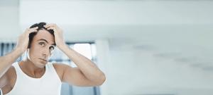 側頭部の薄毛の原因と対処法